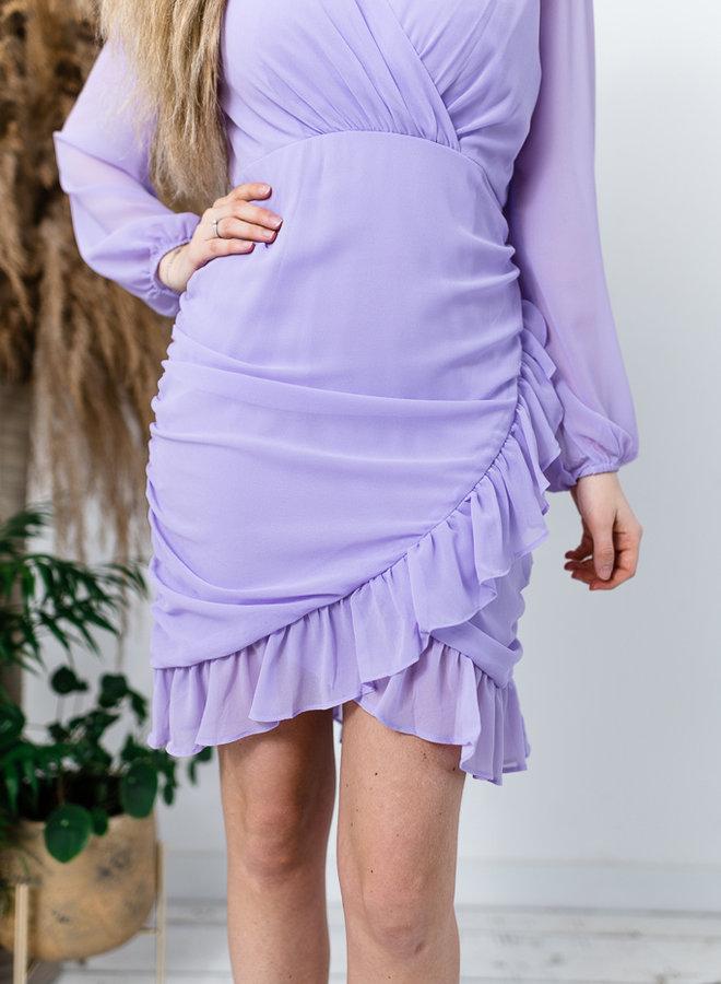Cotton Candy Dress lila