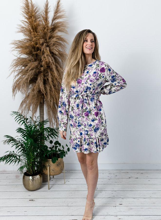 Iris Flower Dress