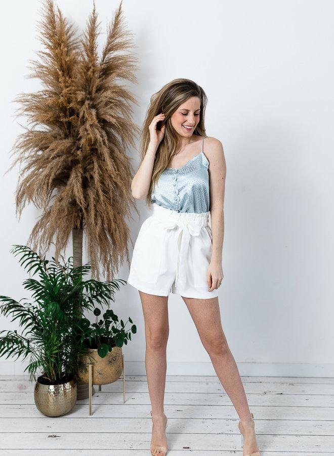 Summer Pastel Shorts wit