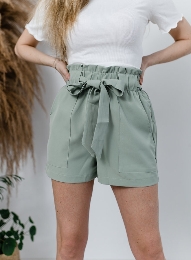 Summer Pastel Shorts groen
