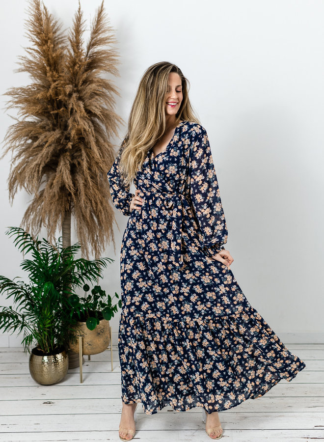 Amy Maxi Dress Blue