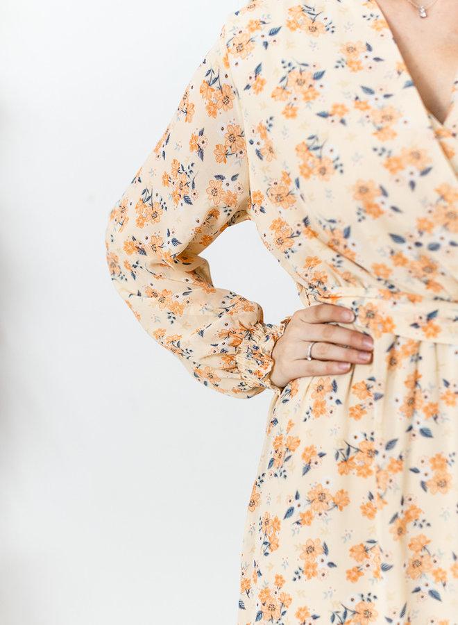 Amy Maxi Dress Peach