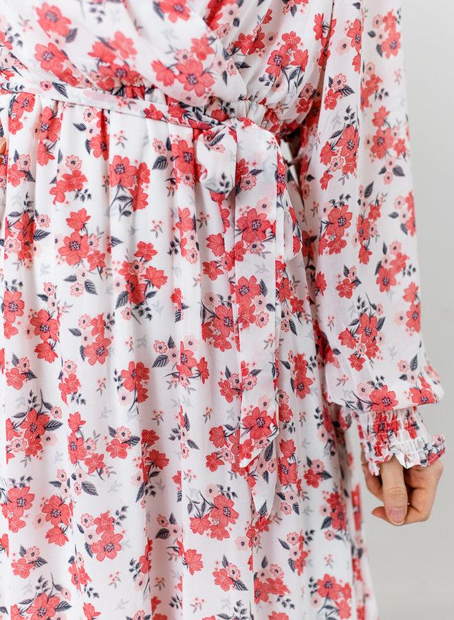 Amy Maxi Dress White