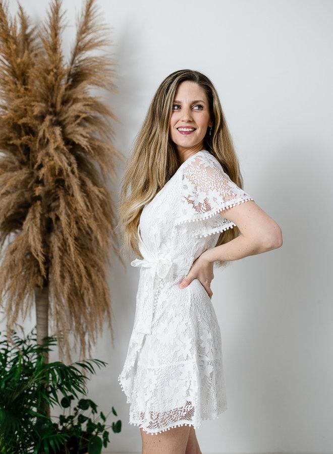 Daisy Dress White