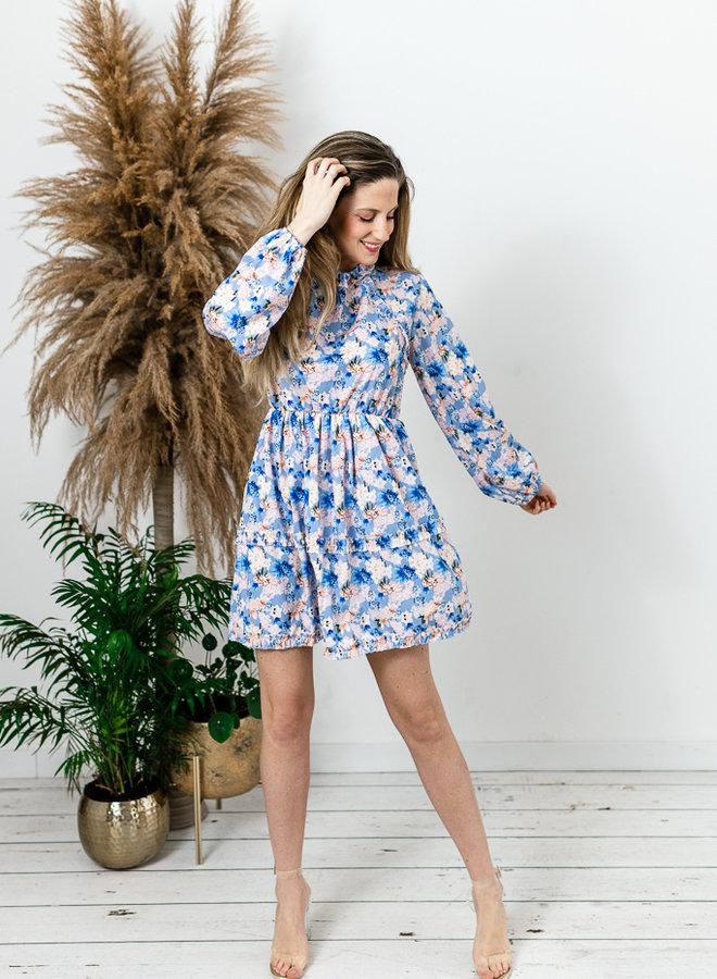 Penelope Dress Blue