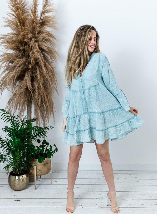 Tetra Dress Aqua