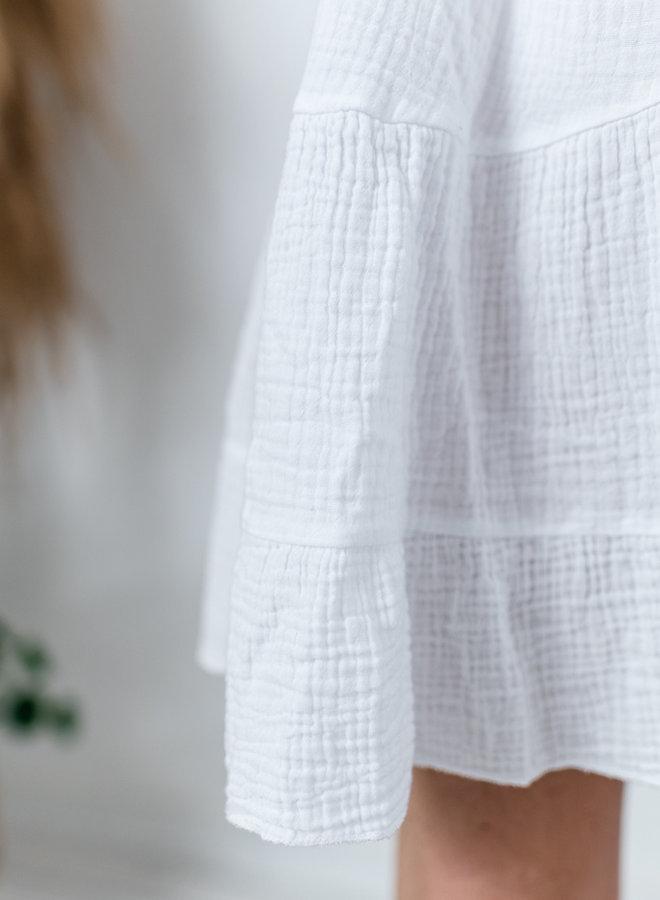 Tetra Dress White