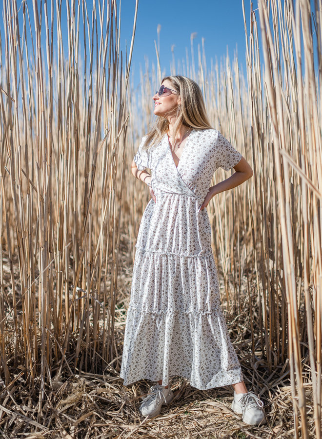 Clara Dress White