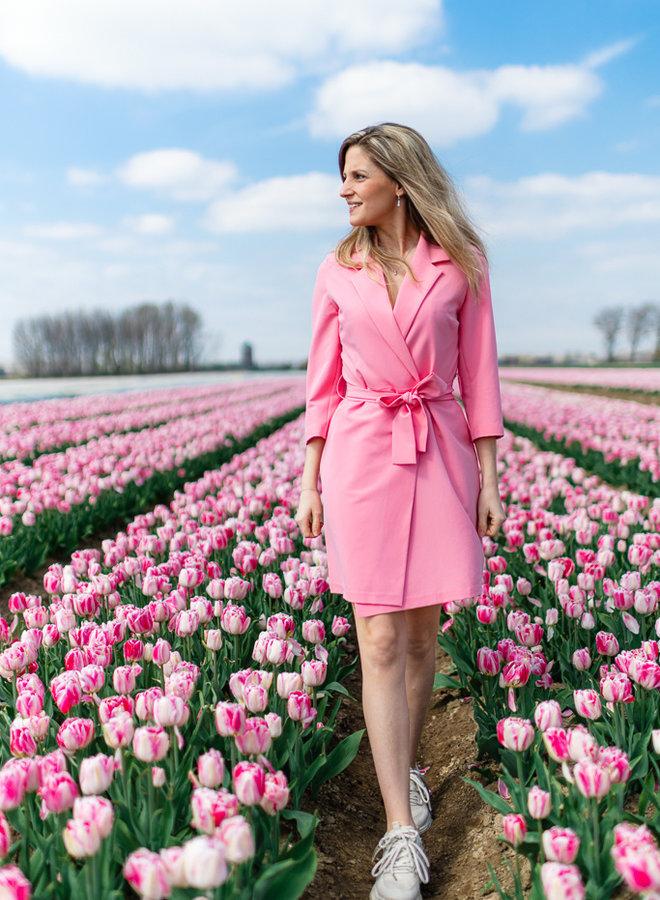 Blazer Dress Pink