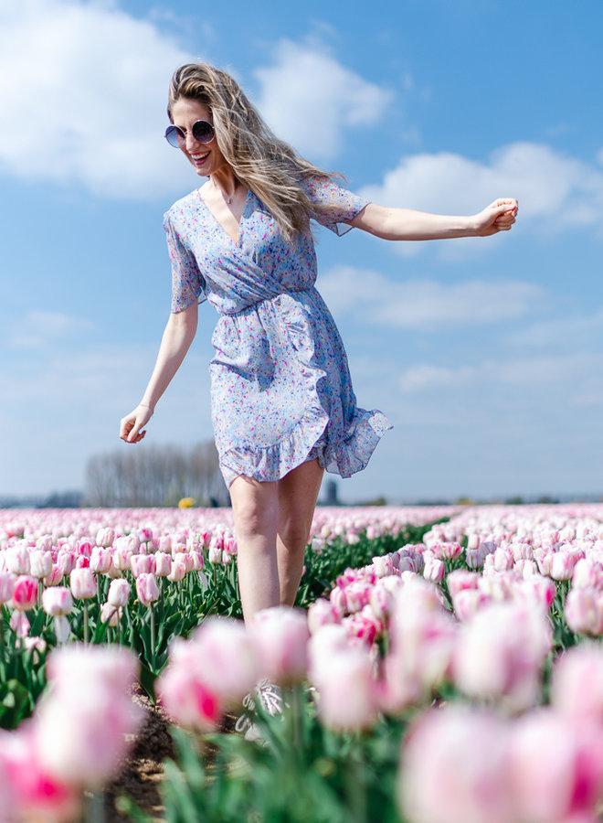 Flower Dress Blue