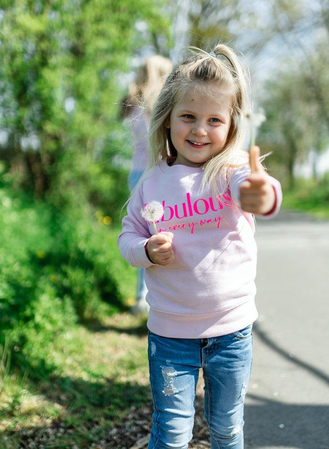 Sweater Cotton Pink - Neon Pink KIDS