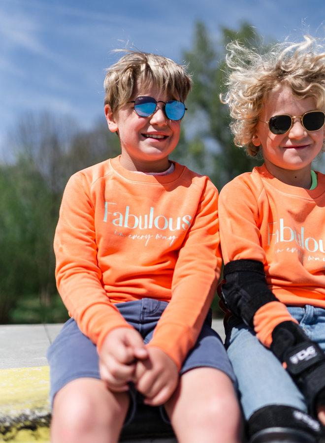 Sweater Orange - Mint KIDS