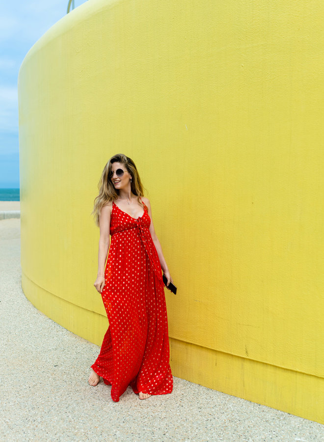 Marrakesh Dress Red