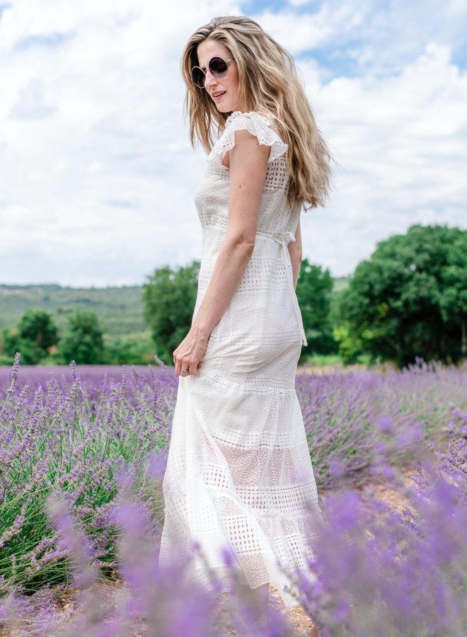Mykonos Dress White