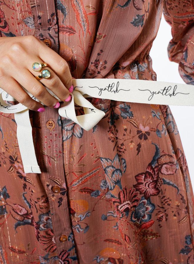 Amelie Dress Brown