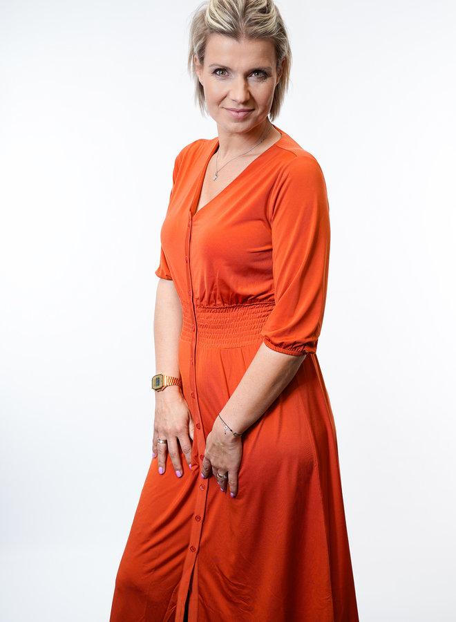Vada Dress Orange
