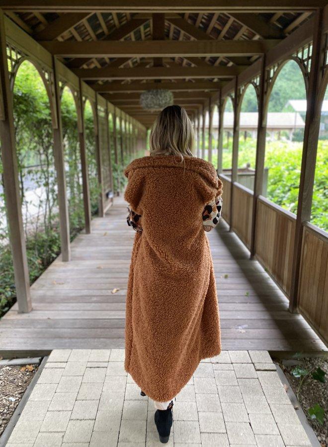 Etta Sleeveless Teddy Coat