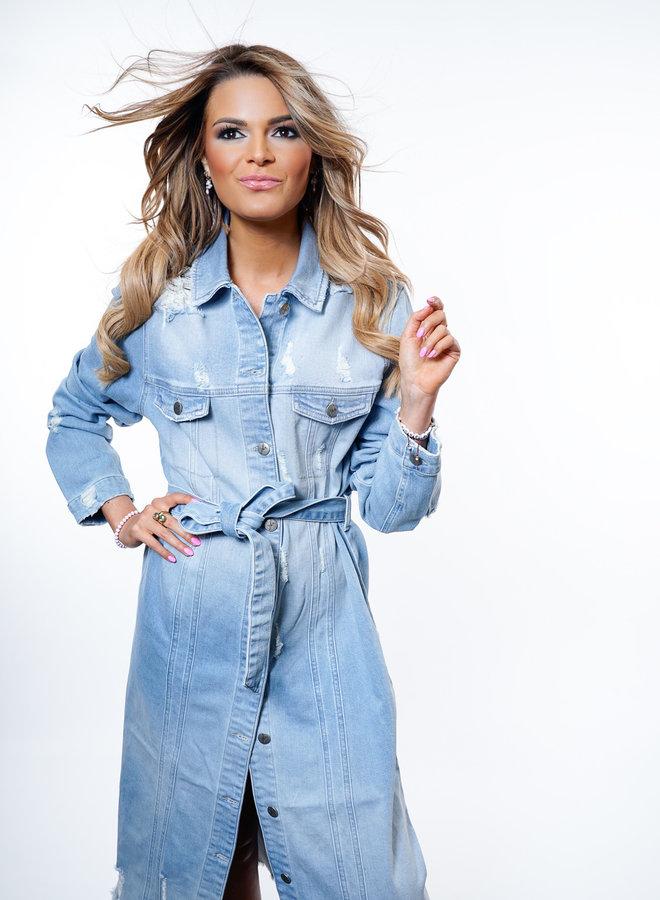 Nicole Jeans Dress/Coat