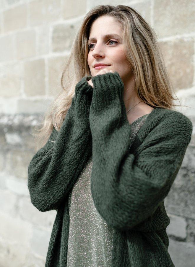 Amelia Cardigan Khaki