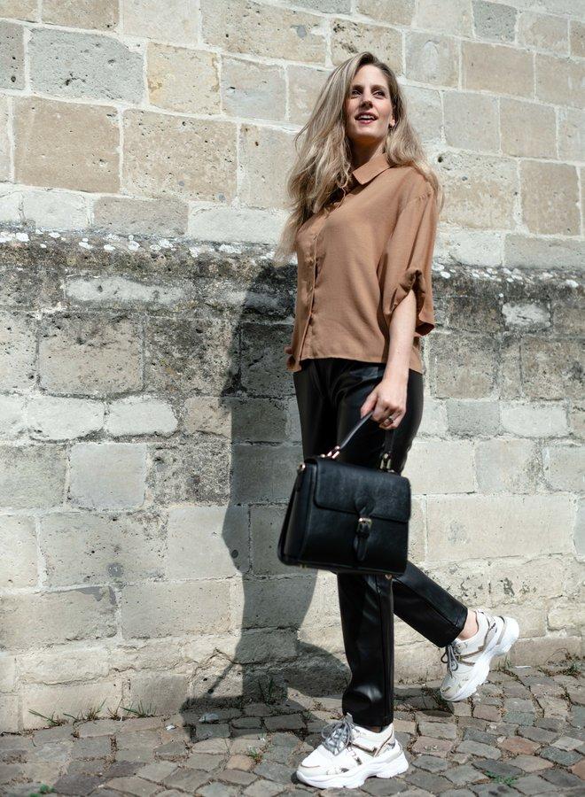 Julia Leather Bag Black
