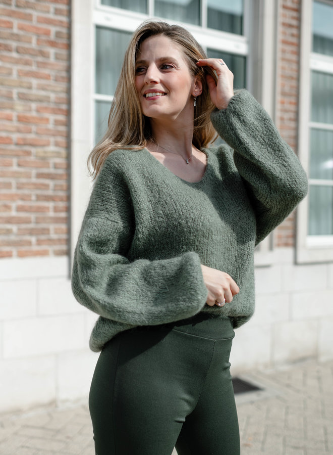 Peyton Sweater Khaki