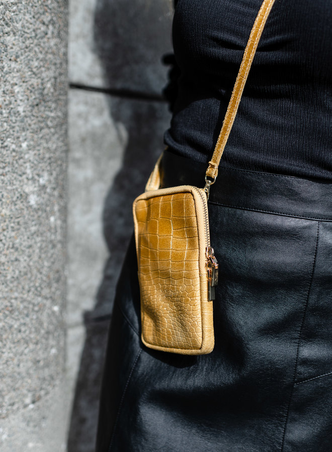 Isa Phone Bag Mustard