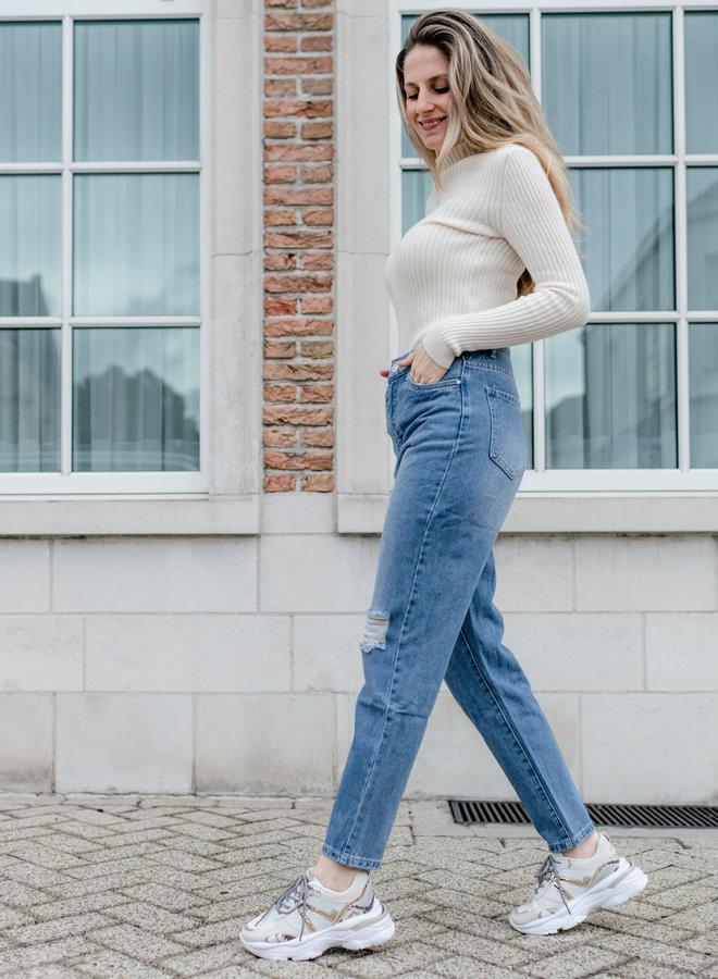 Eva Jeans Mom Fit