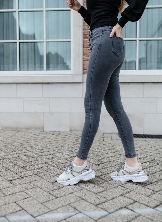 Sarah Jeans Grey