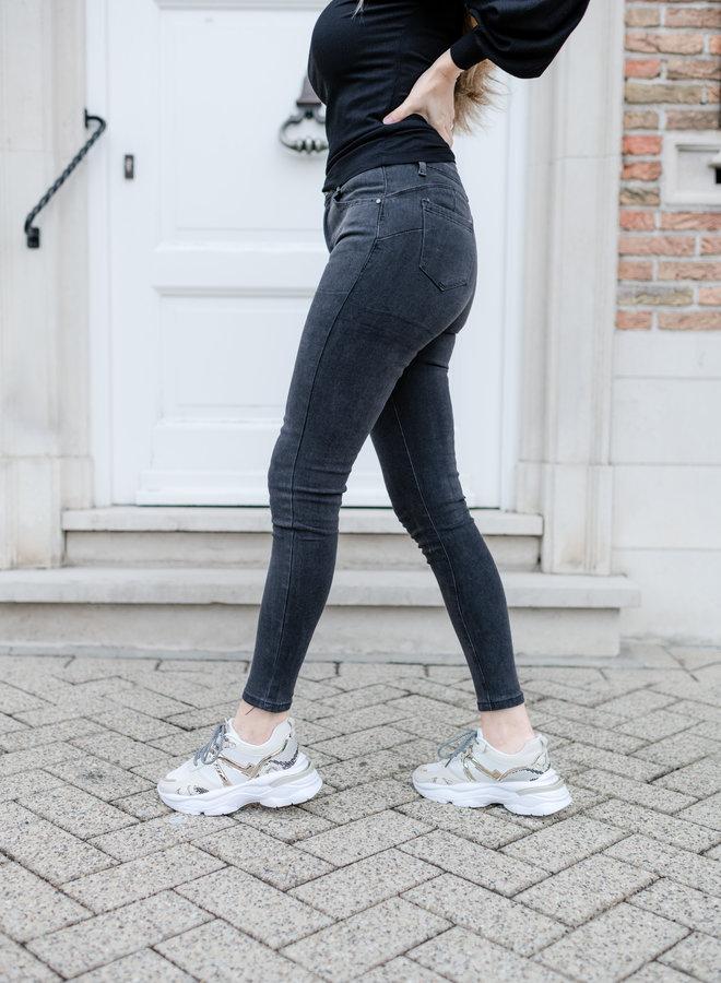 Quinn Jeans Charcoal