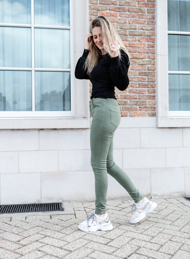 Hailey Jeans Khaki