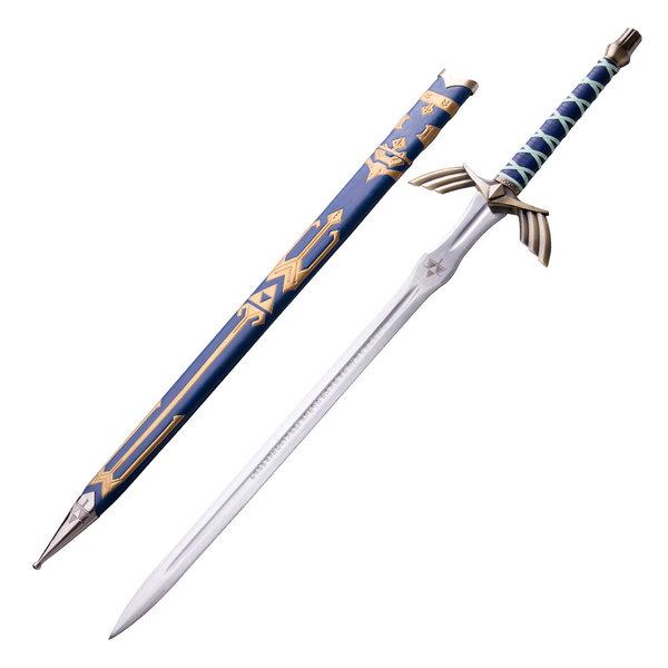 ZELDA - Link - Master Sword in Leder - Blauwe Deluxe Editie