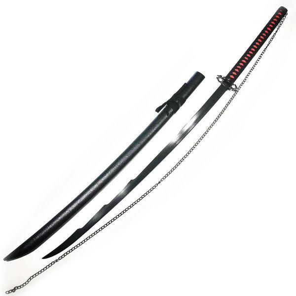 BLEACH - Long Katana d'Ichigo - Zangetsu v2 - 140cm