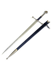 LORD OF THE RINGS - Anduril - Sword of Aragorn with sheath