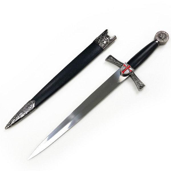 CRUSADER - Templar Red Cross Dagger