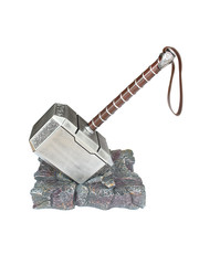 Otaku Ninja Hero THOR - Resin Mjolnir Hammer + Base