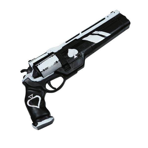 DESTINY - Exotic Ace of Spades gun - White