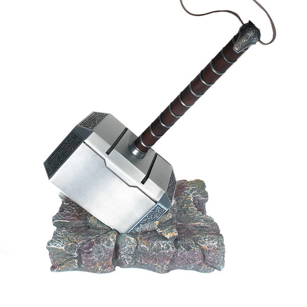THOR - Full METAL Mjolnir Hammer + Base
