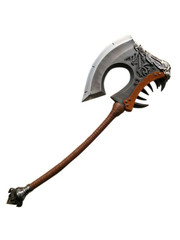 Hellscream tweehandige Battle Axe Gore