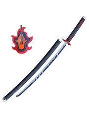 DEMON SLAYER - Tanjiro Kamado v2 - Fire Breath - Black Nichirin Blade