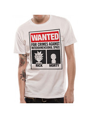 T-SHIRT - Rick und Morty - Wanted