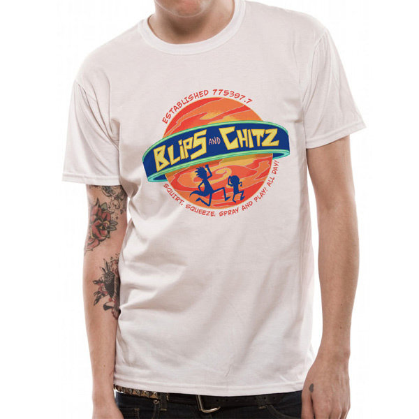 T-SHIRT - Rick and Morty - Blips and Chitz