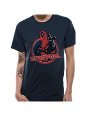 T-SHIRT - Deadpool - Blue
