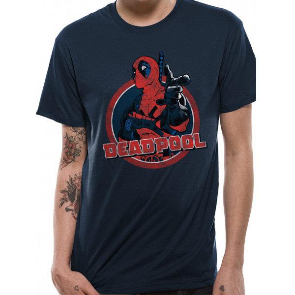 T-SHIRT - Deadpool - Blue