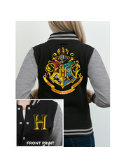 JACKET - Harry Potter - Logo - Black-Gray