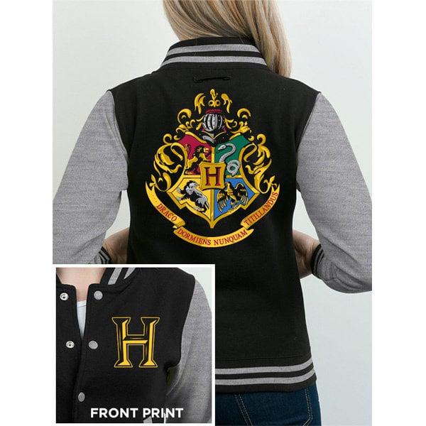 JACKE - Harry Potter - Logo - Schwarz-Grau