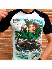 T-SHIRT - Demon Slayer - Tanjiro