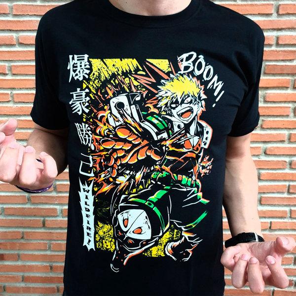 T-SHIRT - Hero Academia - Bakugo