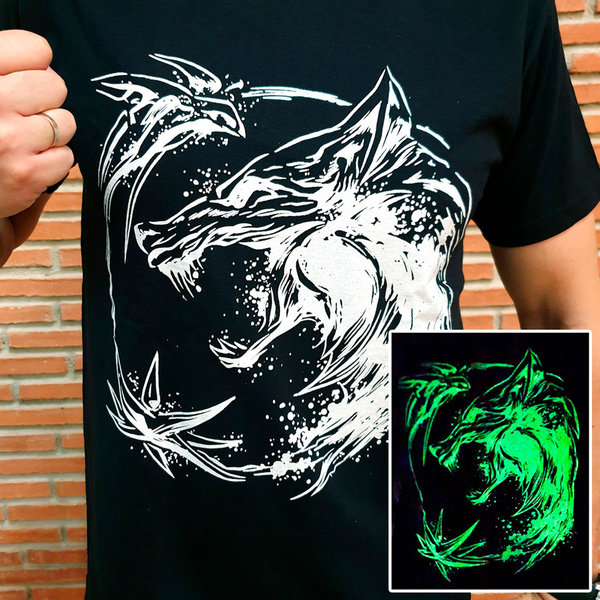 T-SHIRT - Witcher - Glow in the Dark