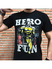 T-SHIRT - One Punch Man - Hero For Fun