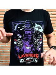 T-SHIRT - Pokemon - Lavander Town